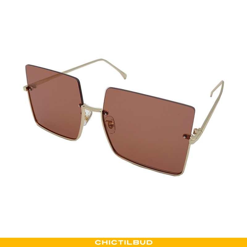 Solbriller Dame Trend Anti-uv Brune