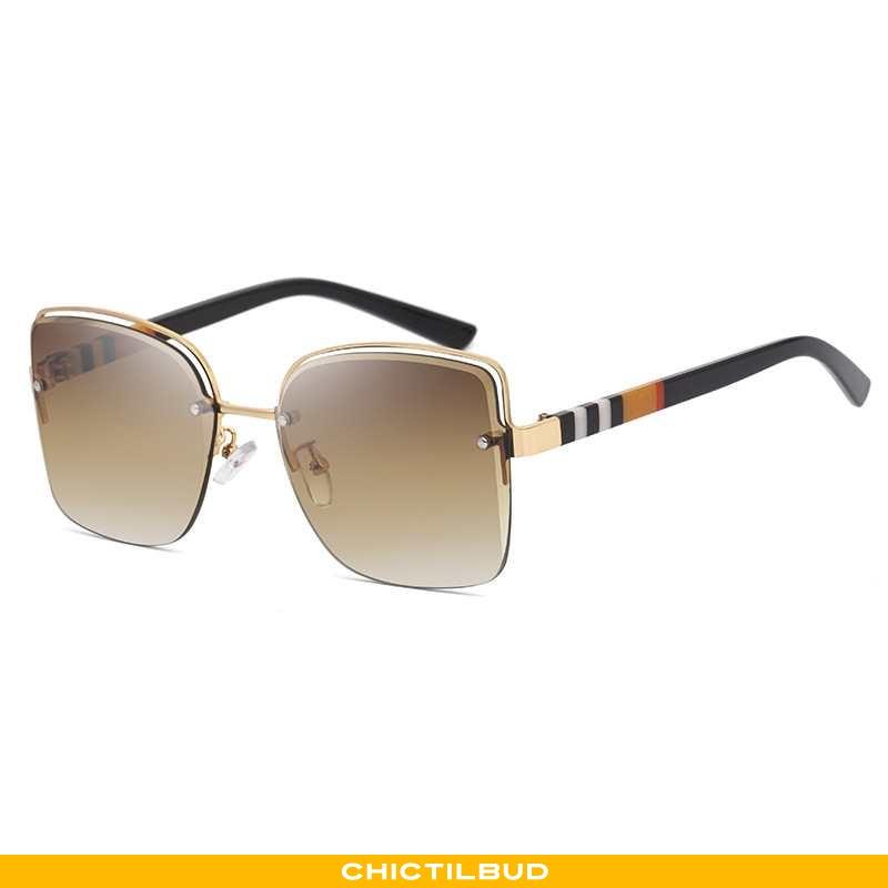 Solbriller Dame Trend Mesh Brune