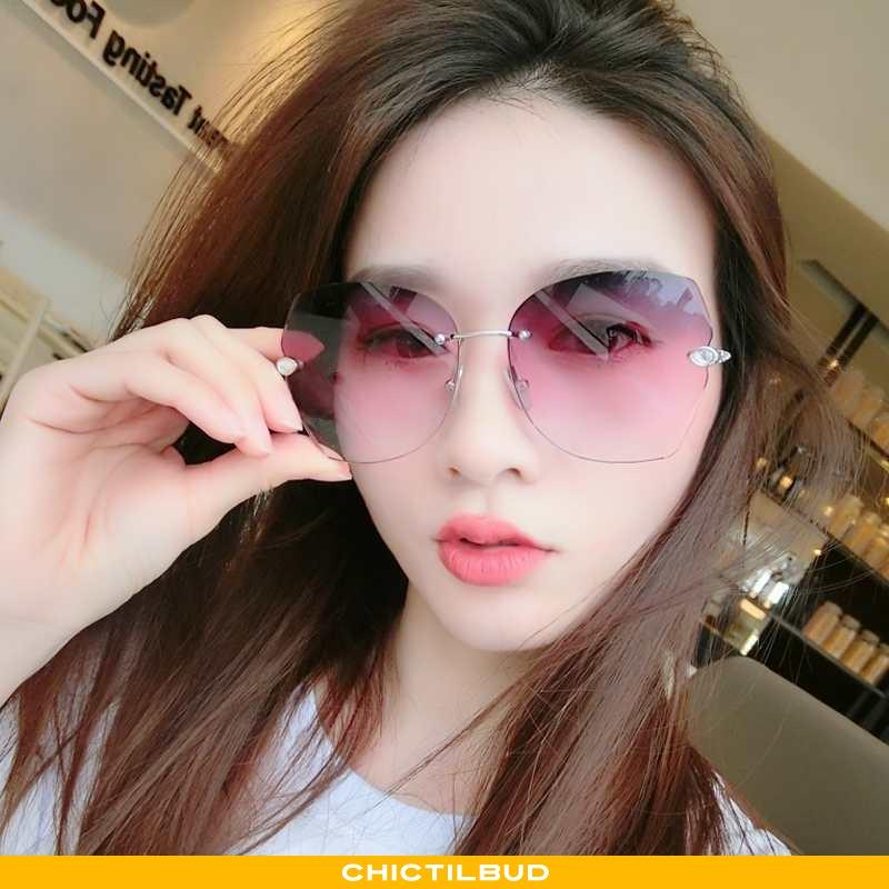Solbriller Dame Trend Rød Lilla