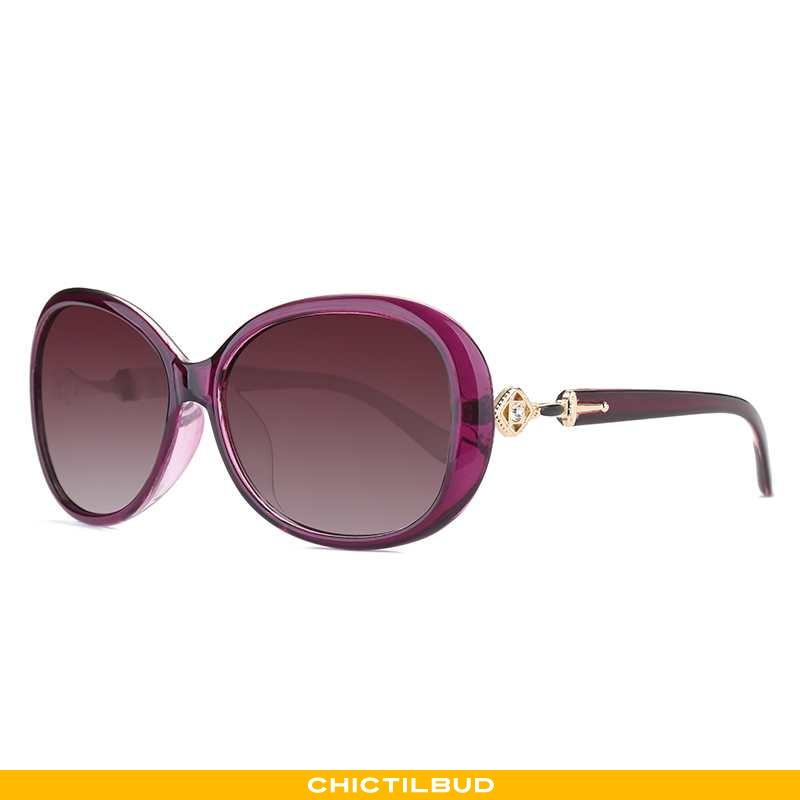 Solbriller Dame Vintage Ny Lilla