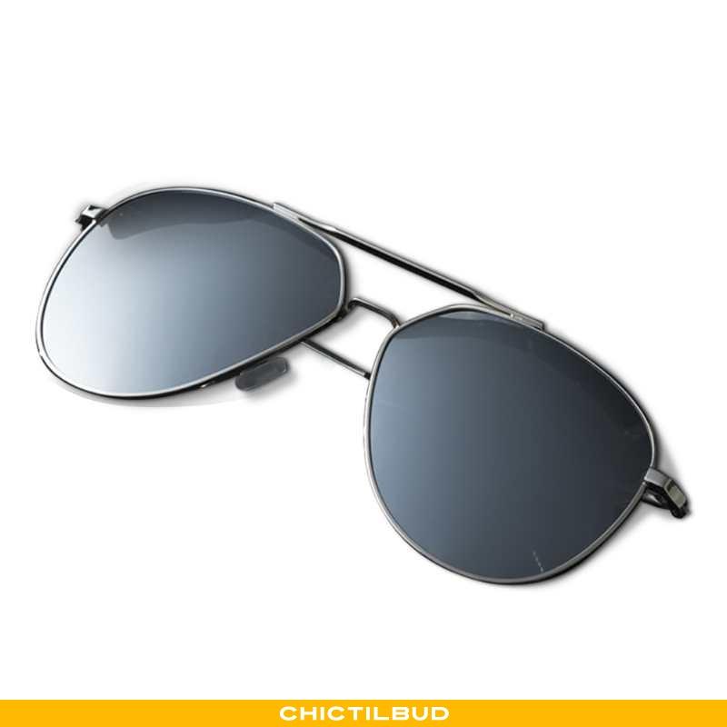 Solbriller Herre Business Ny Sølv