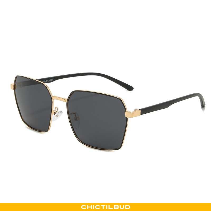 Solbriller Herre Høj Guld