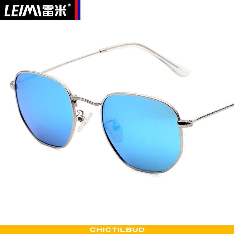 Solbriller Herre Mode Ny Blå