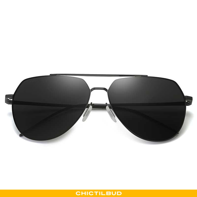 Solbriller Herre Mode Tudse Sort
