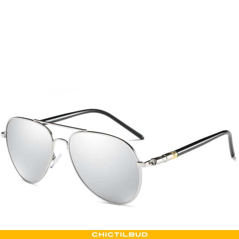 Solbriller Herre Sølv Mænd