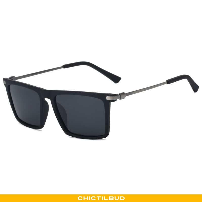 Solbriller Herre Trend Øje Sort