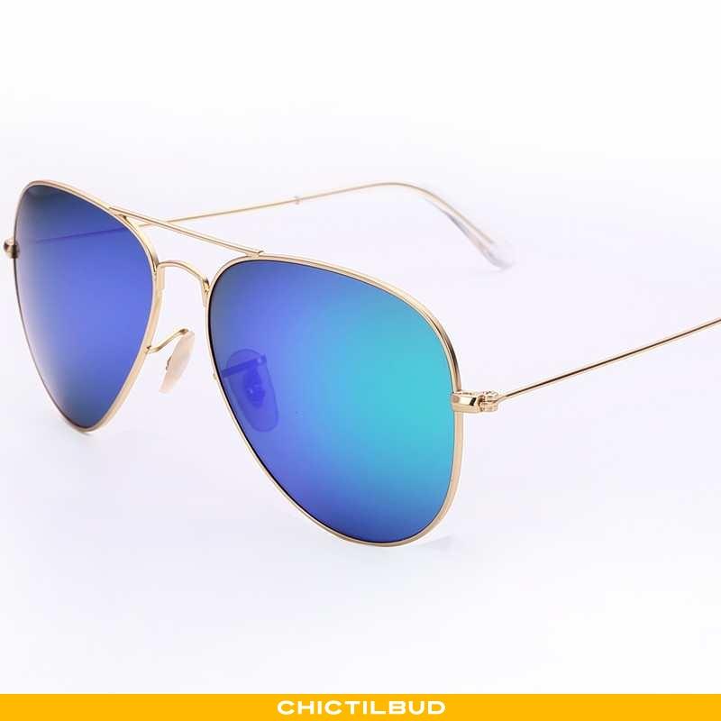 Solbriller Herre Trend Kvinder Blå