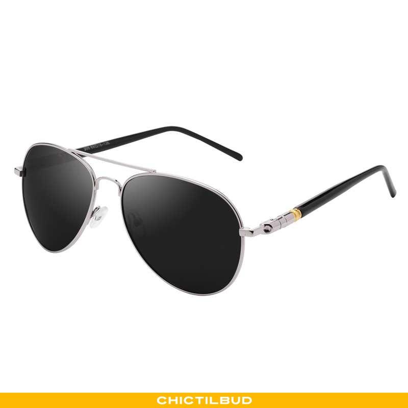 Solbriller Herre Trend Mænd Sort