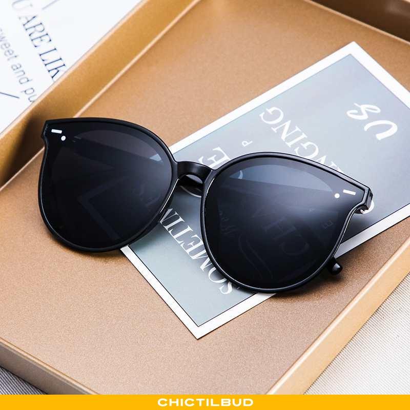Solbriller Herre Vintage Mænd Sort