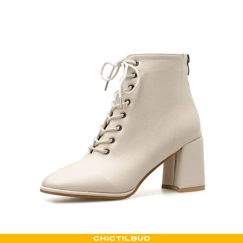 Støvler Dame Korte Støvler Højhælede Mesh
