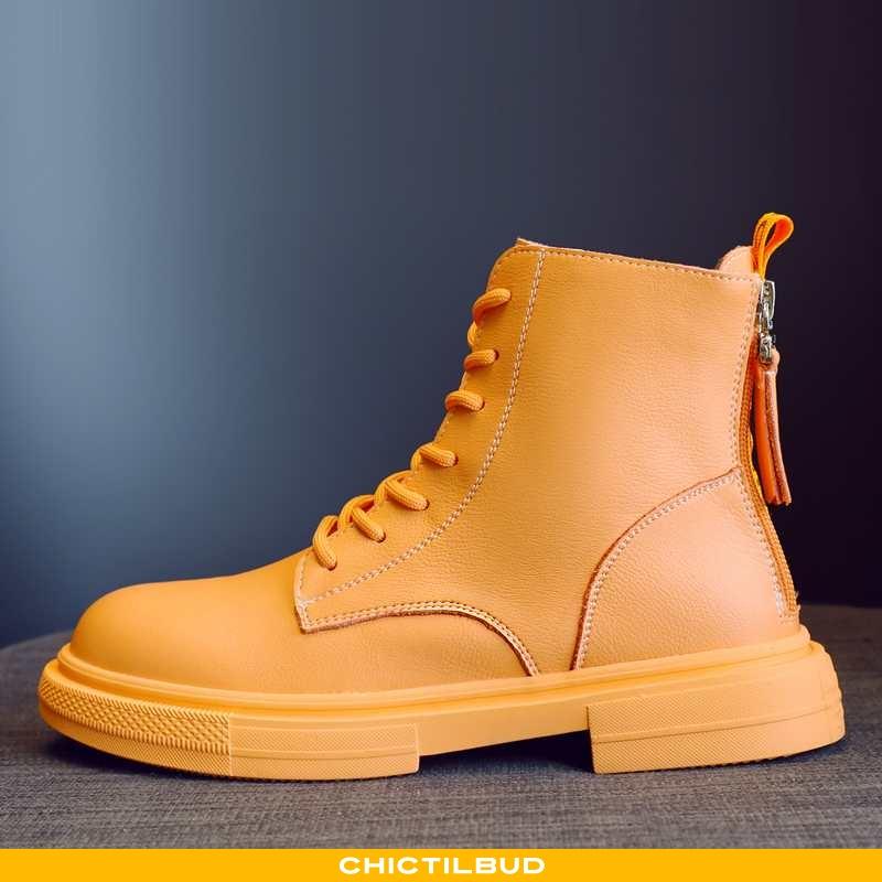 Støvler Dame Korte Støvler Læder Trend 2020