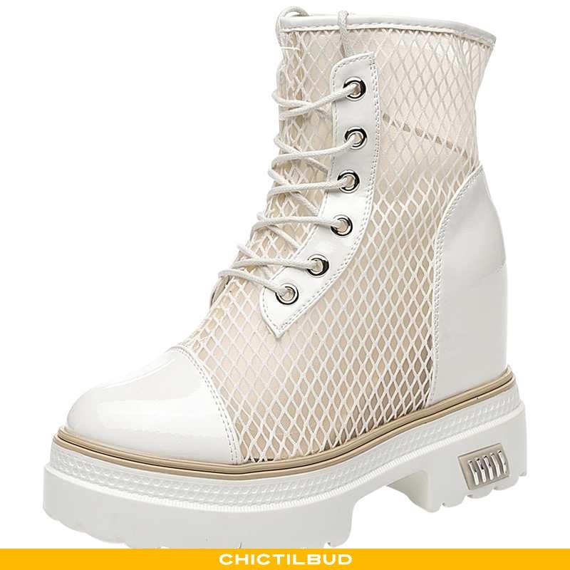 Støvler Dame Korte Støvler Tynd Mesh
