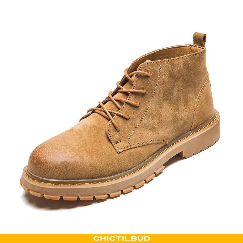 Støvler Herre Martin Støvler Læder Trend Britisk