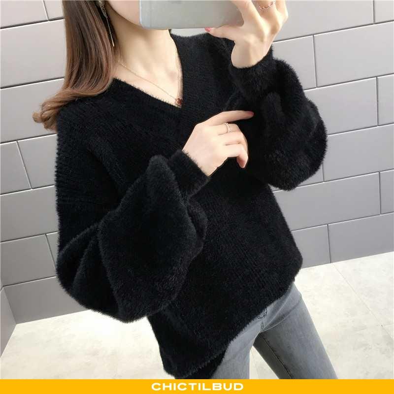 Sweatere Dame Sweater Elegante Pullover