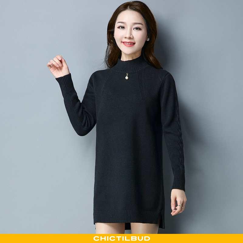 Sweatere Dame Sweater Løse 2021