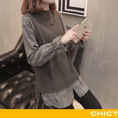 Sweatere Dame Sweater Løse Overtøj