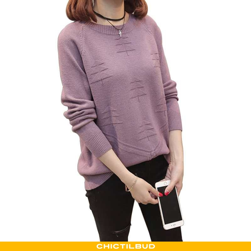 Sweatere Dame Sweater Vinter Pullover