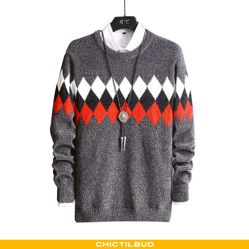 Sweatere Herre Bluser Skjorter Vinter 2021
