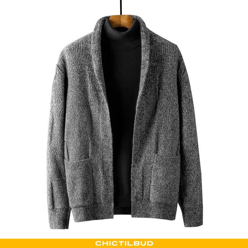 Sweatere Herre Cardigan Forårs Ny