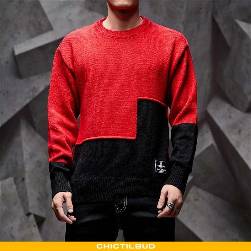 Sweatere Herre Frakke Strikket Forårs 2020