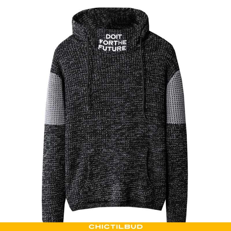 Sweatere Herre Striktrøjer Casual Mænd