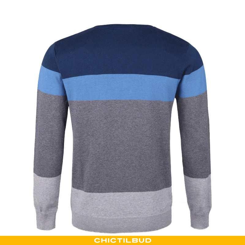 Sweatere Herre Striktrøjer Slim Fit Ren