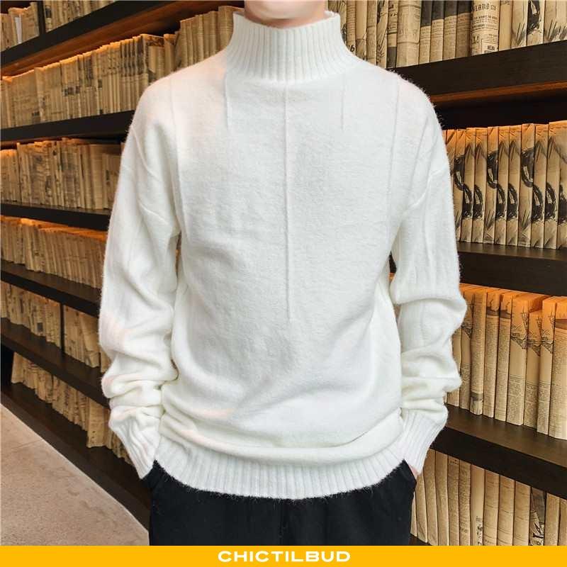Sweatere Herre Striktrøjer Trend Ny