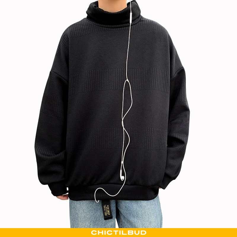 Sweatere Herre Striktrøjer Trend Ren