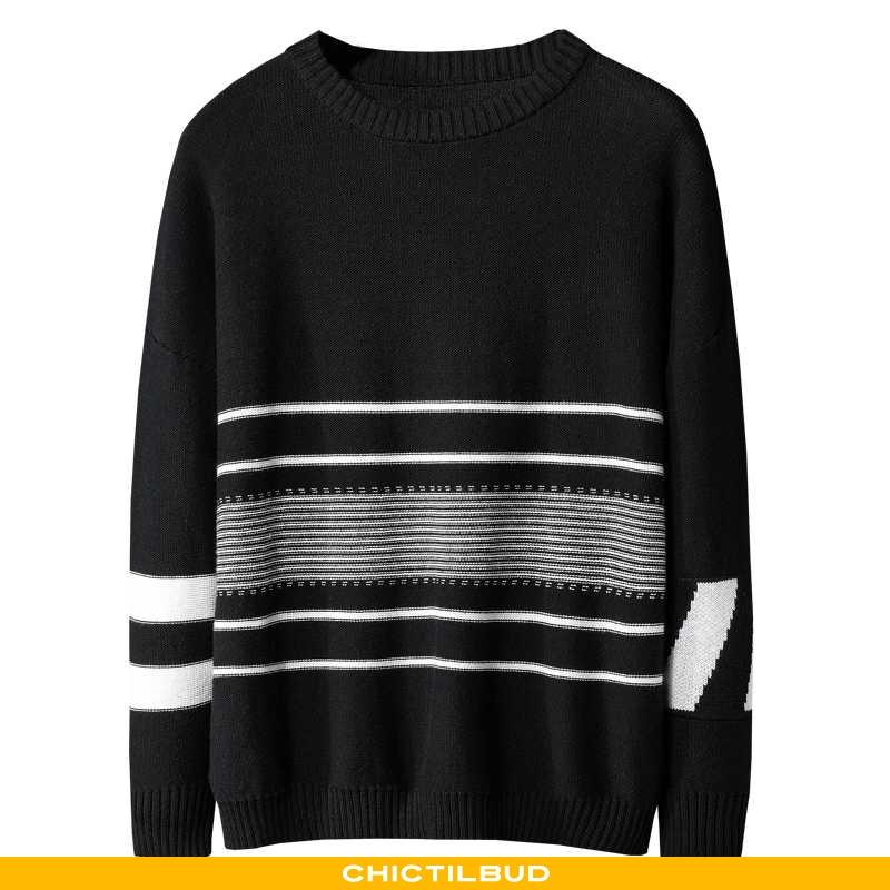 Sweatere Herre Striktrøjer Vinter Pullover