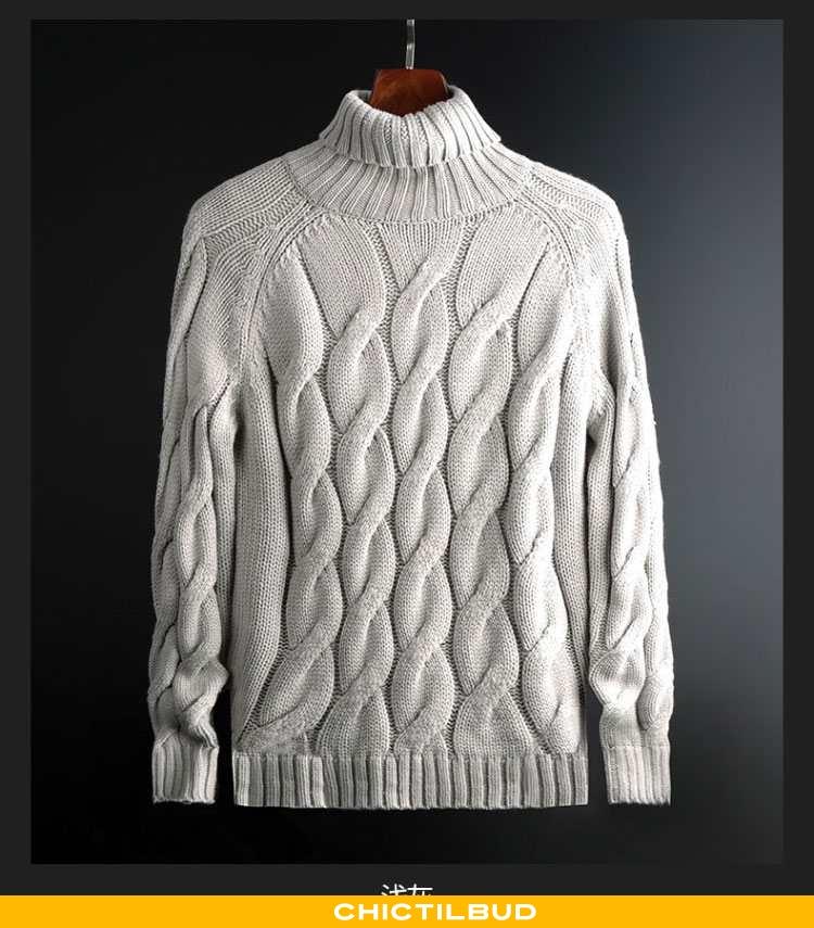Sweatere Herre Sweater Bomuld Vinter Ny