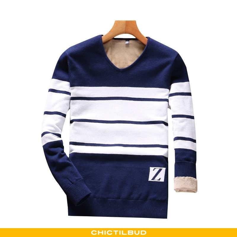 Sweatere Herre Sweater Langærmet Uldne