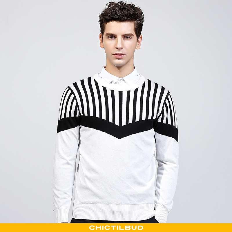 Sweatere Herre Sweater Mode Ny