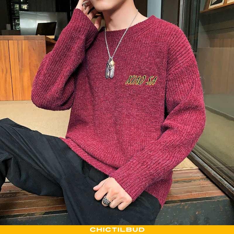 Sweatere Herre Sweater Trend Rød