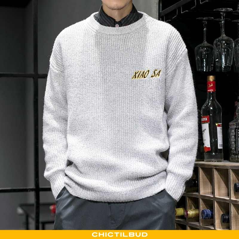 Sweatere Herre Sweater Vinter Pullover