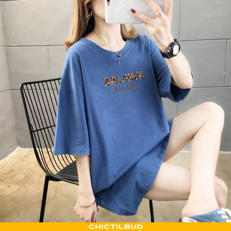 T-shirts Dame Bomuld Kortærmet Ren