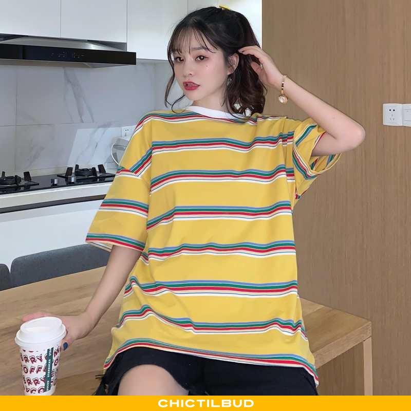 T-shirts Dame Lang Kvinder Gul