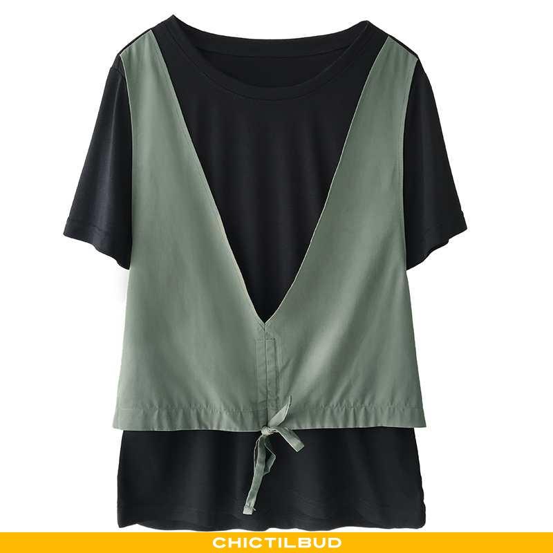 T-shirts Dame Sommer Kvinder Grøn