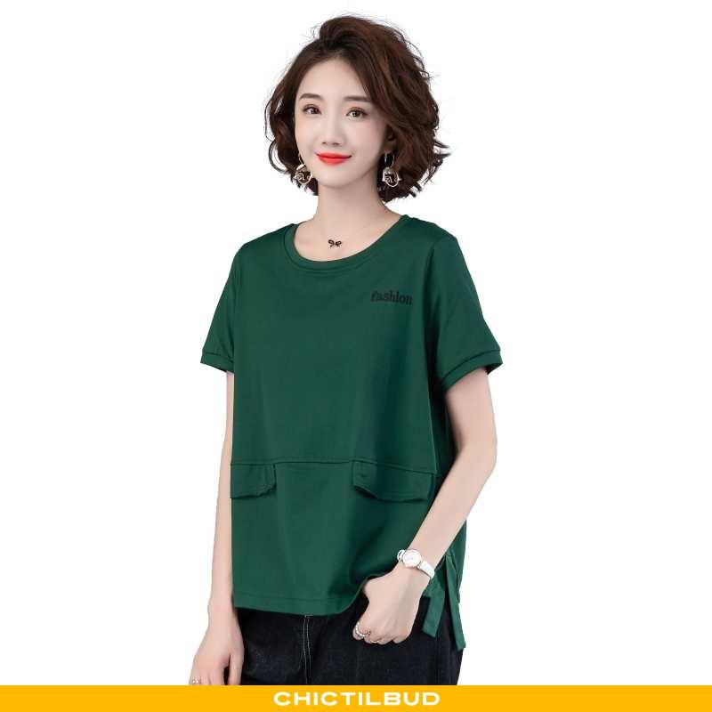 T-shirts Dame Trend 2020 Grøn