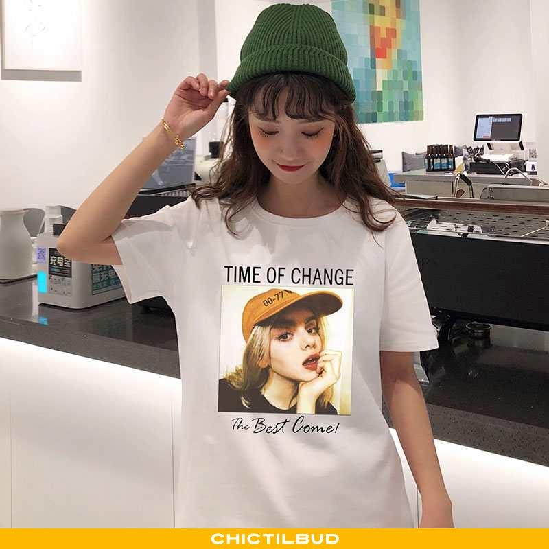T-shirts Dame Trend 2020 Hvid
