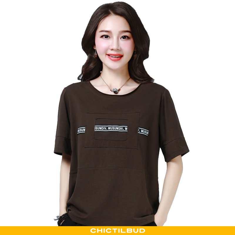 T-shirts Dame Ungdom Mode Alt Matcher