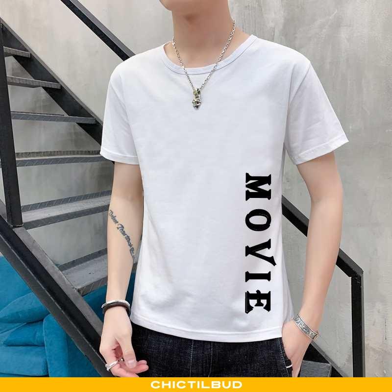 T-shirts Herre Bomuld Kortærmet 2020