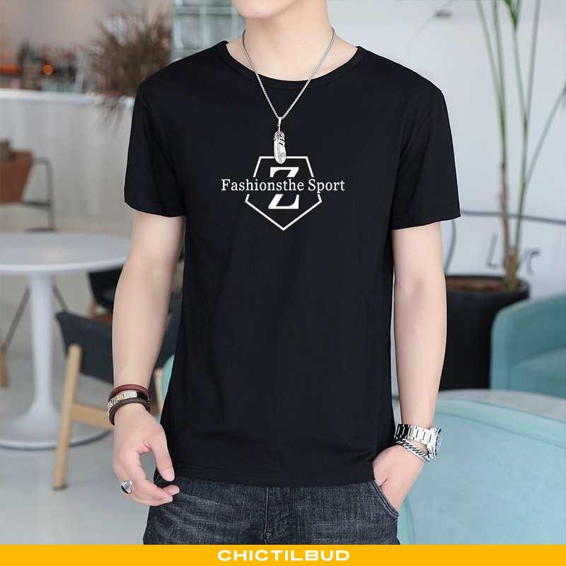 T-shirts Herre Bomuld Løse Store Størrelser