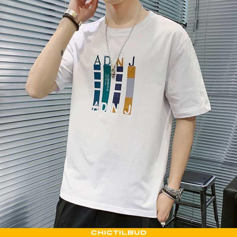 T-shirts Herre Casual Smuk Hvid
