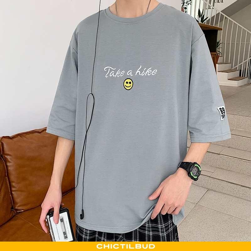 T-shirts Herre Kortærmet 2020 Grå