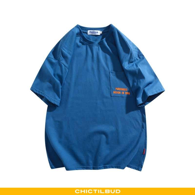 T-shirts Herre Kortærmet Blå