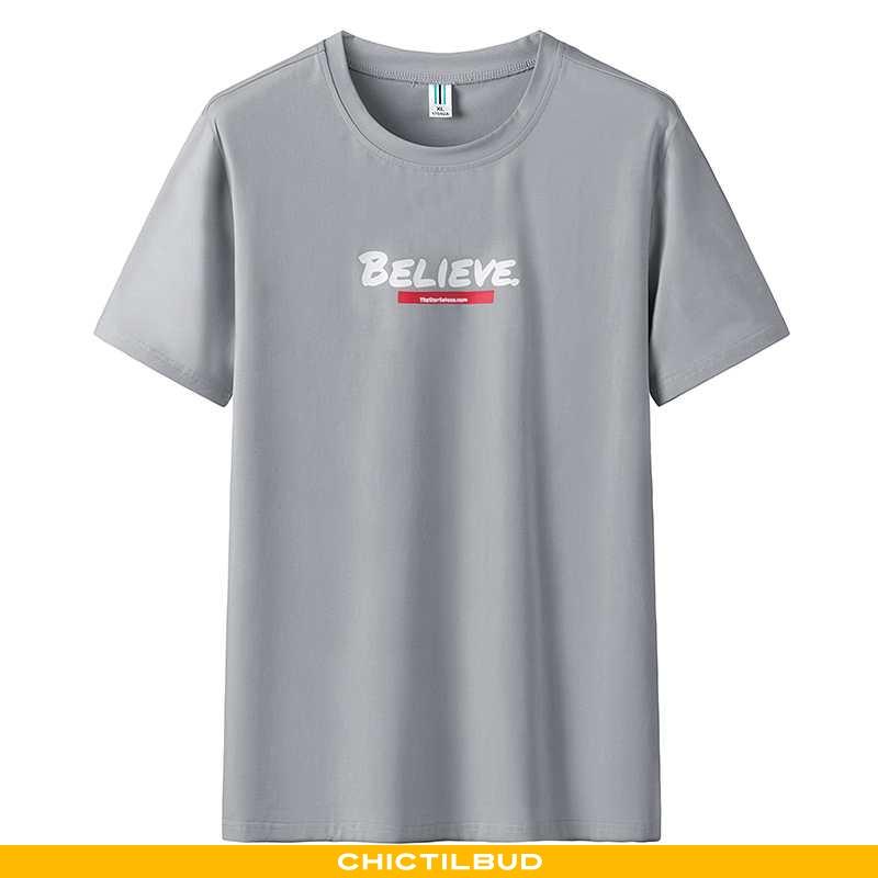 T-shirts Herre Kortærmet Grå