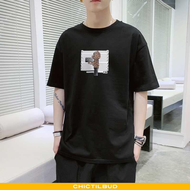 T-shirts Herre Undertrøje Bomuld Sommer Ny