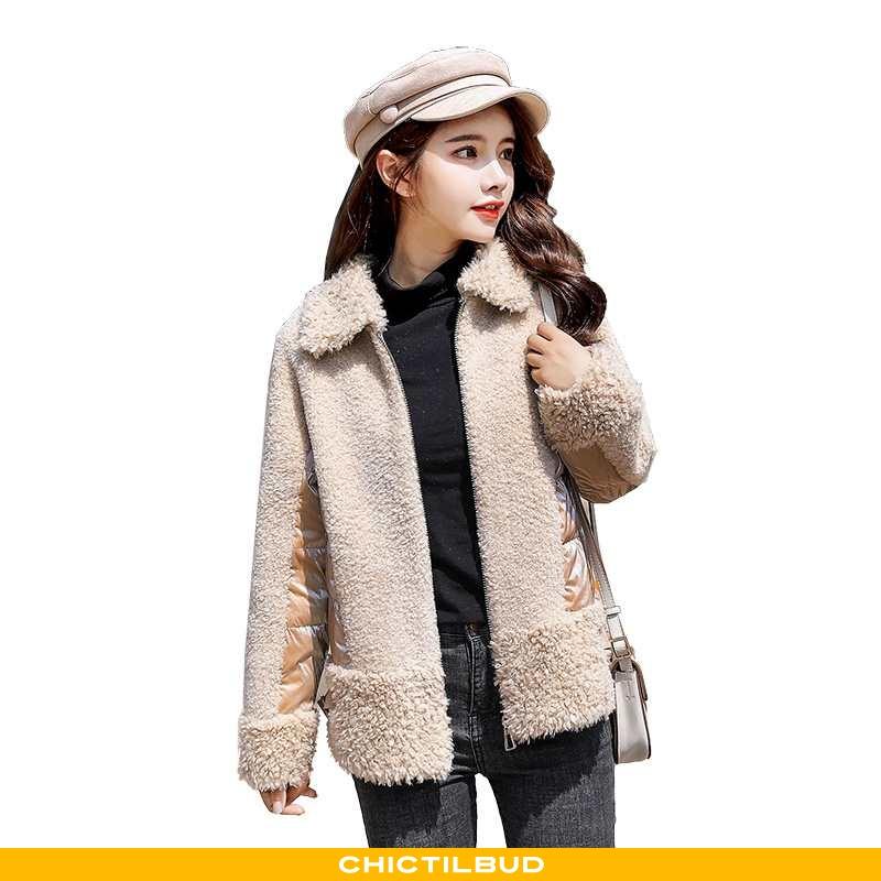 Uldfrakke Dame Frakke Mode Ren