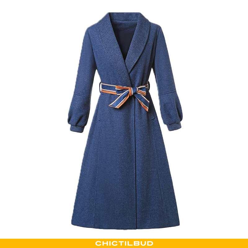 Uldfrakke Dame Frakke Trend Personlighed