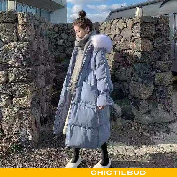 Vinterjakke Dame Bomuld Jakke Bomuld Lang 2021